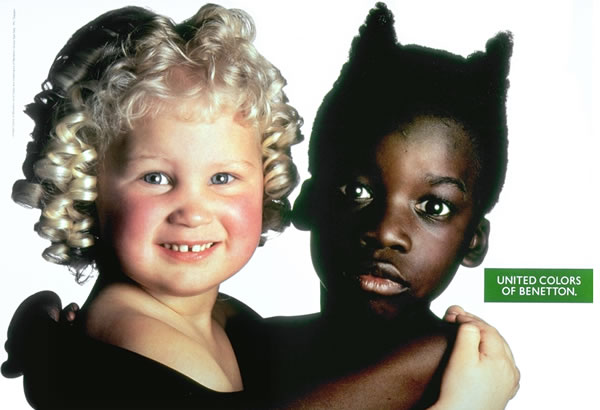 Advertising Benetton Children