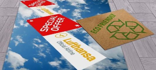 Personalizzazione pavimento con Calpestampa
