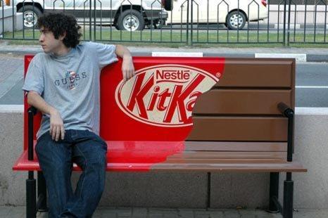 Guerrilla marketing KitKat
