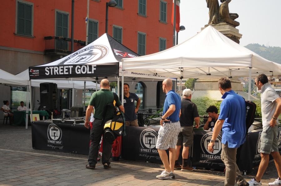 Gazebo personalizzati Street Golf