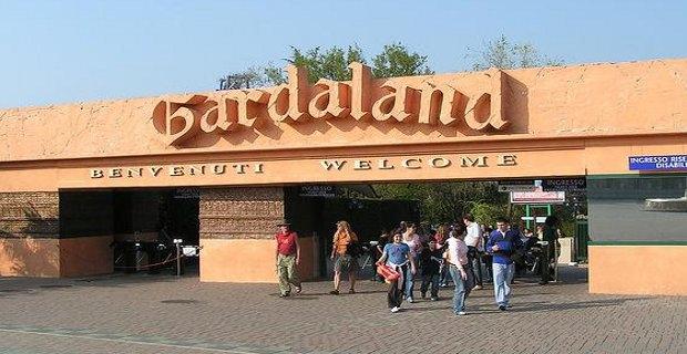 Insegna ingresso Gardaland