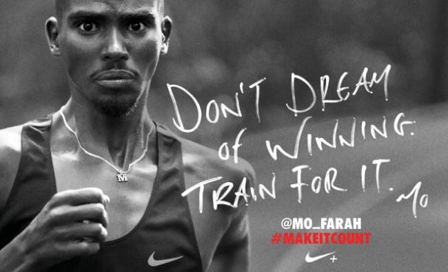 Campagna pubblicitaria Nike, Make it count