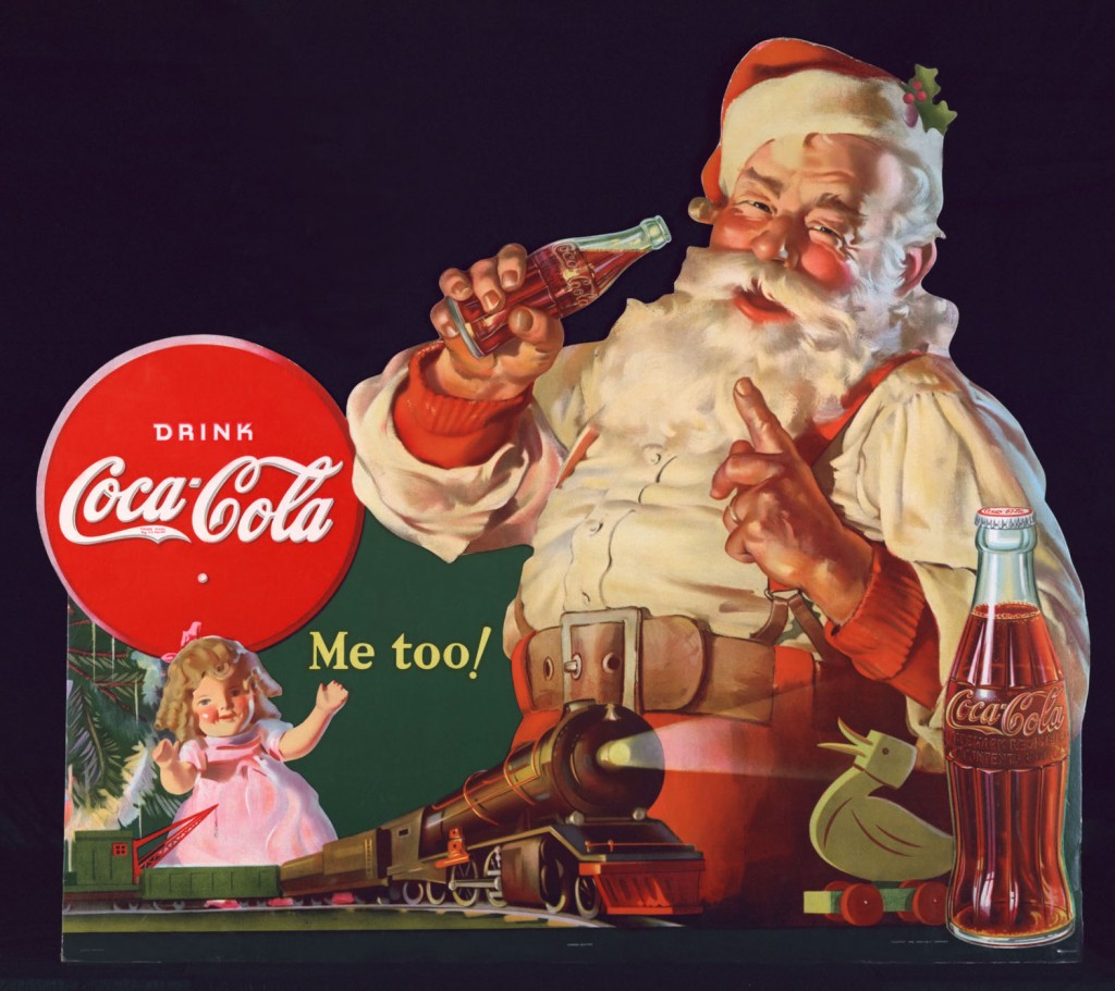 Pubblicità natalizia Coca Cola