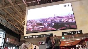 Led indoor Aeroporto di Malpensa