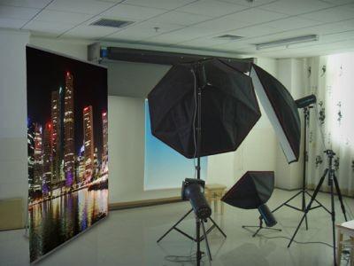 Backdrop con profili a scatto