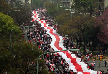 Record bandiera più lunga