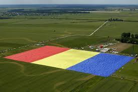 Bandiera grandezza record in Romania