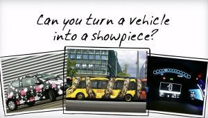 Can you turn a vehicle into a showpiece?