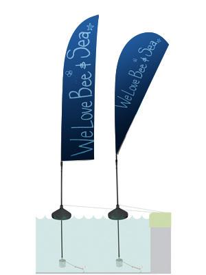 Acqua Flag