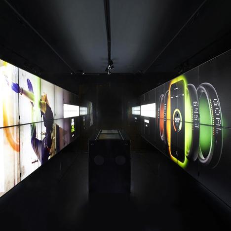 Digital Signage Nike FuelStation, Boxpark