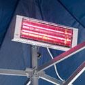 Lampada riscaldante per  installazioni di Gazebo pubblicitari all'aperto