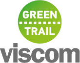 Viscom Green Trail Logo