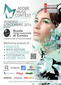 Adobe Muse Contest Locandina