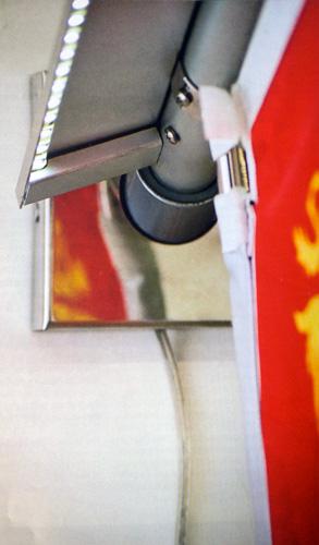 Bandiera luminosa dettaglio