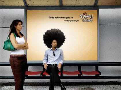Guerrilla Marketing alla fermata dell'autobus