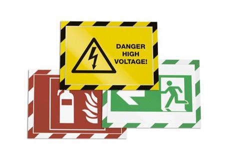 Cornice magnetica Duraframe per avvisi sicurezza