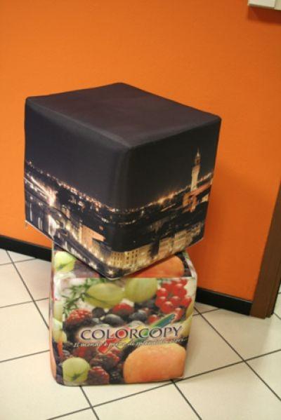 pouf personalizzati
