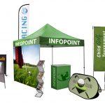 Studio Stands al Parma Golf Show: espositori pubblicitari sul green