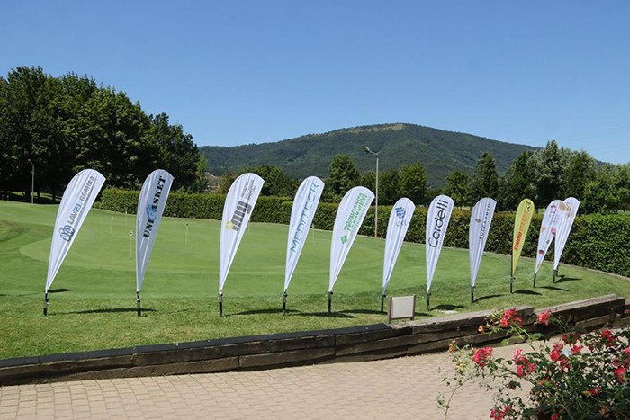 Bandiere sponsor Rubber Golf Cup