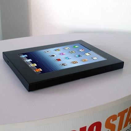 Porta tablet/iPad da banco