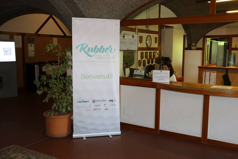 Espositori per eventi sportivi: Roll-Up per Rubber Golf Cup