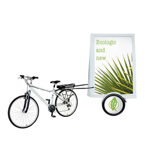 pubblicità dinamica vela bici