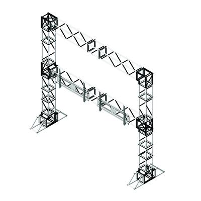 Progetto 3D Stand Americana
