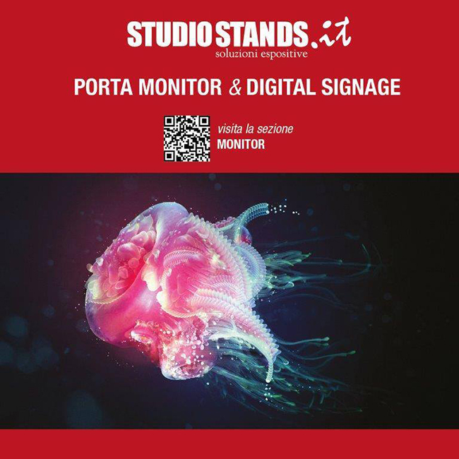 Espositori promozionali: digital signage