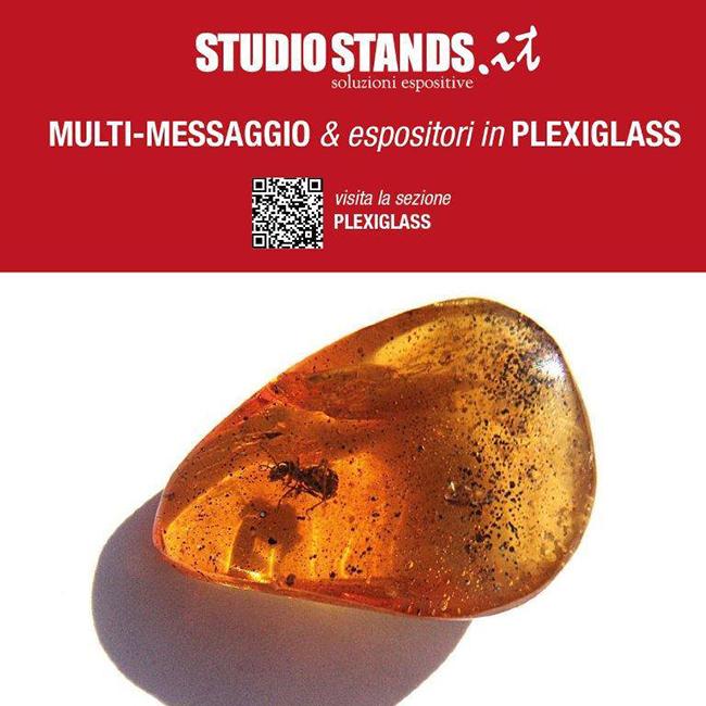 Espositori promozionali: plexiglass