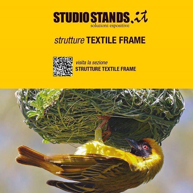 Espositori promozionali: Textile Frame
