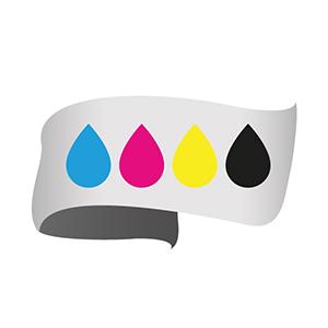 icona stampa su tessuto e supporti flessibili