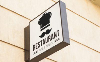 Insegna ristorante