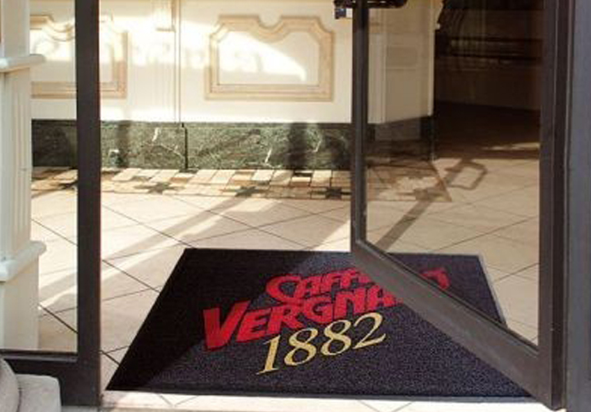 asciugapassi: tappeto personalizzato