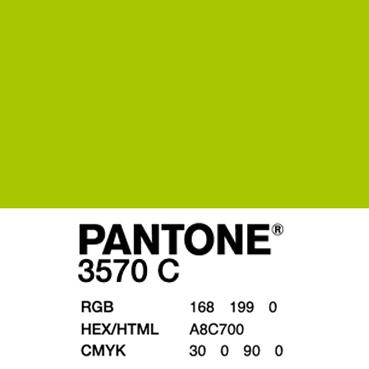 PANTONE 3570 C