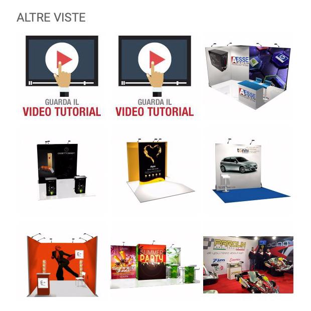 Visual marketing: gallery fotografica dei prodotti