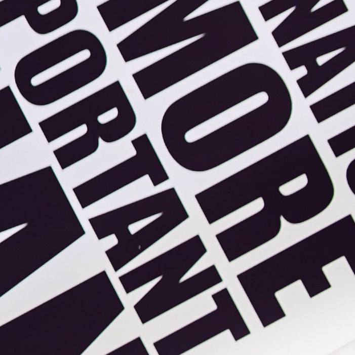 Graphic Trend: font bold