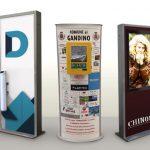 Totem personalizzati: i 7 accessori per totem più richiesti