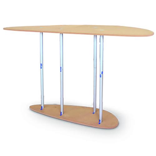 Struttura tavolo a goccia