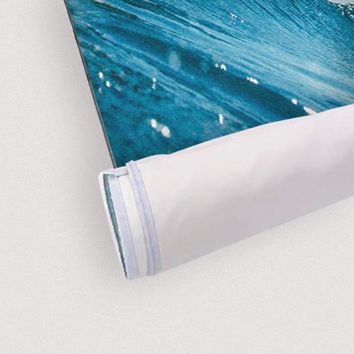 Tessuto confezionato con keder in silicone