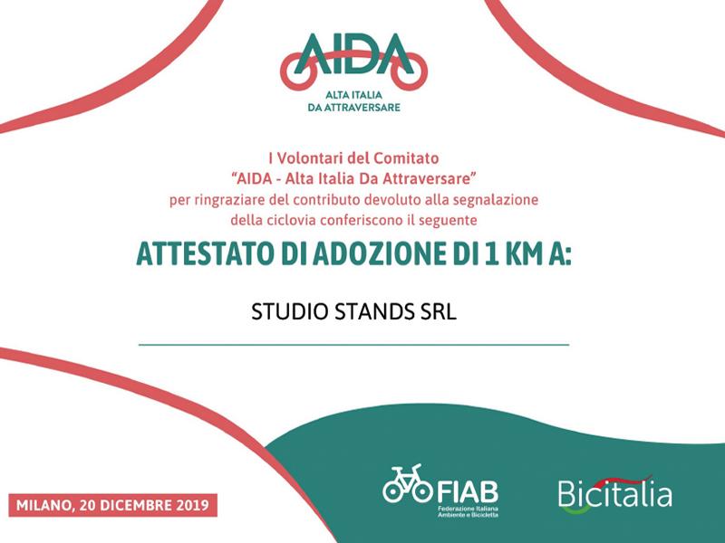 Attestato AIDA