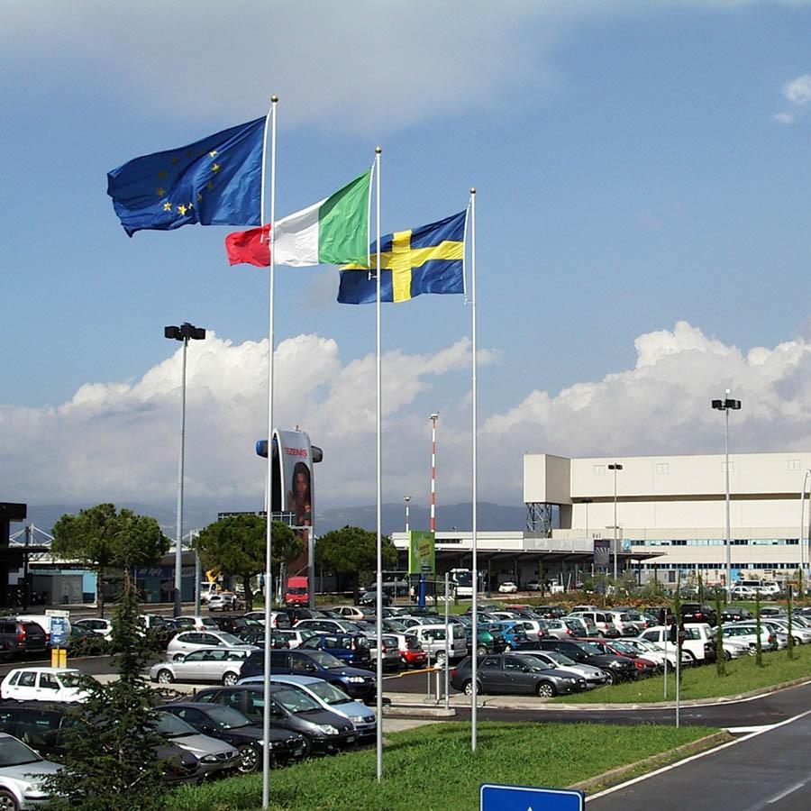 Pennoni porta bandiera