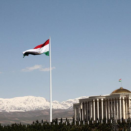 Pennone portabandiera a Dushanbe