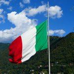 Bandiera italiana per pennoni e aste, confezioni su misura