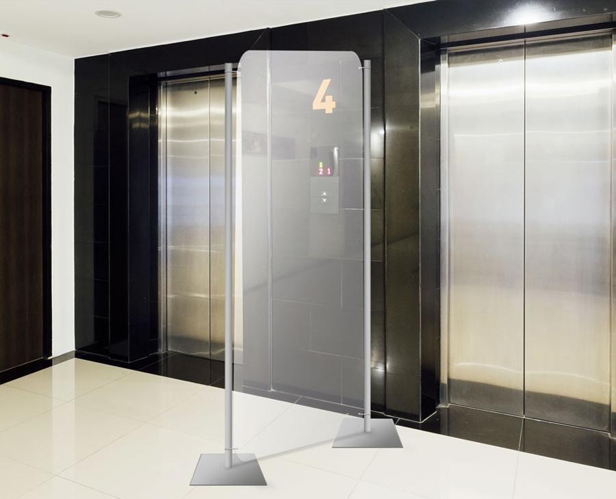 DNA separè ascensori