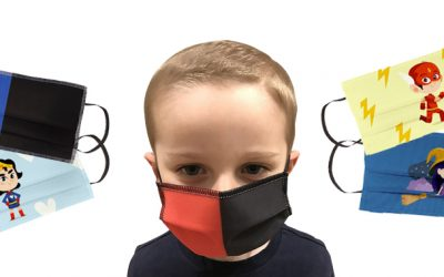 mascherine per bambini personalizzate
