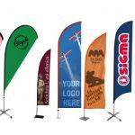 Guida alle bandiere pubblicitarie per la comunicazione visiva