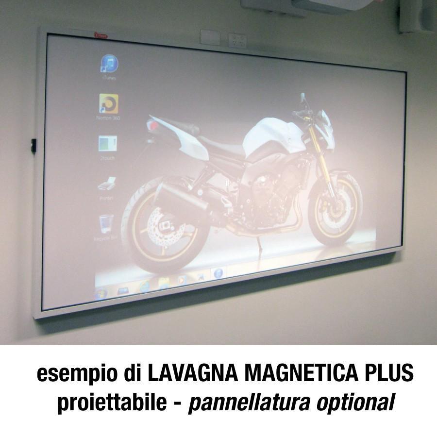 Lavagne Magnetica plus: proiettabile pannellizzata