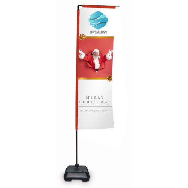 bandiera eolo small con stampa in regalo