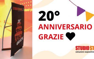 20 anniversario Studio Stands