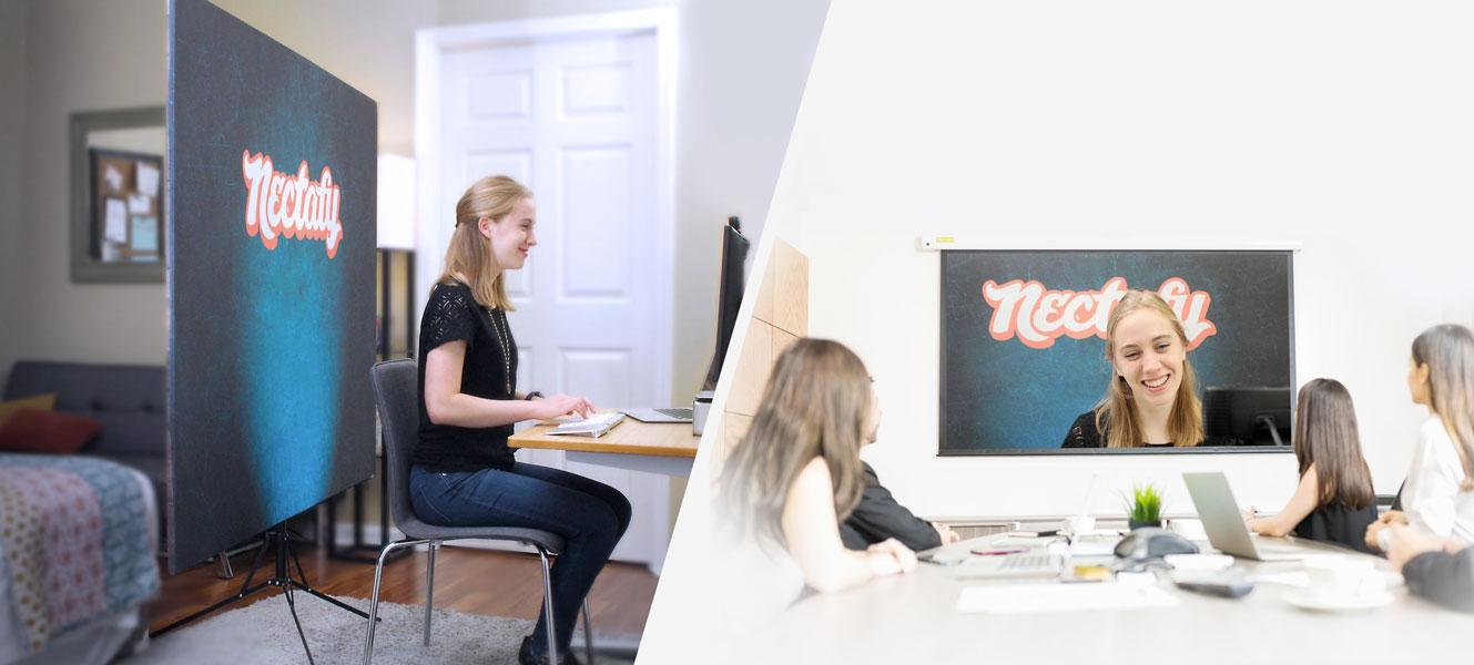 backdrop per video conferenze